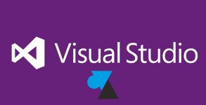 Visual Studio logo violet