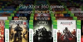 Xbox 360 Xbox One jeux compatibilite