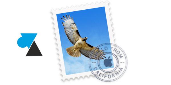 WF Mail Mac OS icone timbre aigle