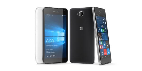 photo smartphone Microsoft Lumia 650 Windows 10 Mobile
