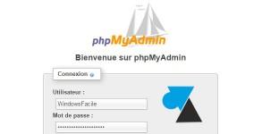 tutoriel phpmyadmin mysql xampp