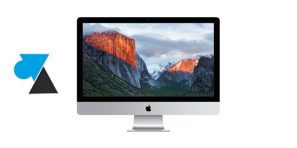 Installer macOS sur un nouveau disque SSD