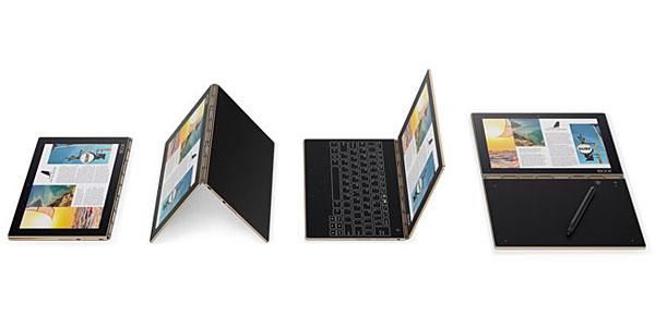 test ultrabook tablette hybride Lenovo Yoga Book Android Windows