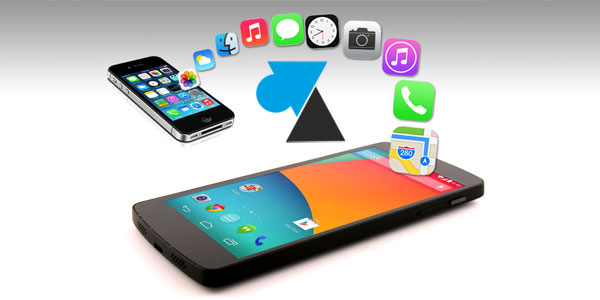 tutoriel migration iPhone vers Android Google