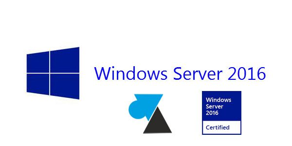 Installer Windows Server 2016