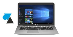photo laptop Asus ordinateur portable W8F
