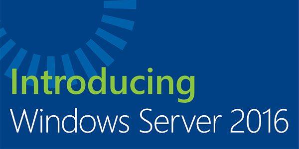 Manuel gratuit pour Windows Server 2016