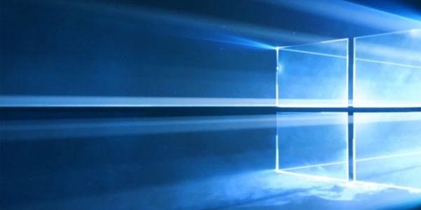 Windows 10 Cloud logo wallpaper fond ecran