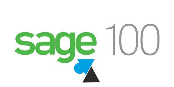 Prérequis pour les logiciels Sage 100c