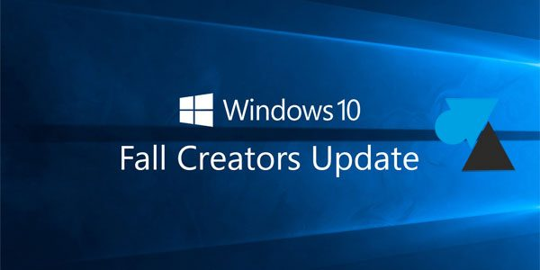 Installer Windows 10 Fall Creators Update (1709)