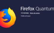 Nouvelle version de Mozilla Firefox : Quantum