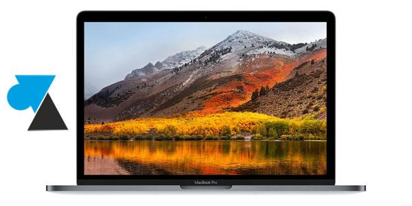 WF macOS High Sierra Macbook tutoriel Mac OS
