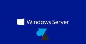 WF tutoriel Microsoft Windows Server WS