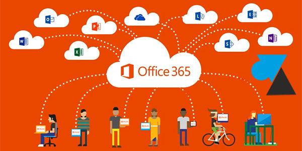 Office 365 : changer le mot de passe du compte