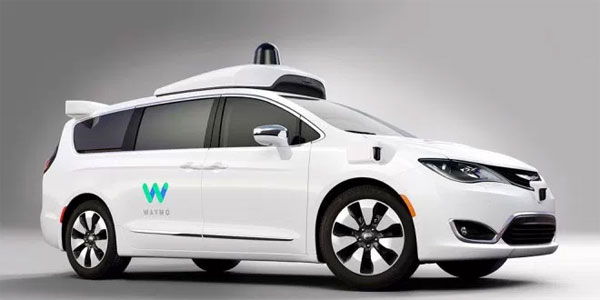 photo voiture autonome Google Waymo