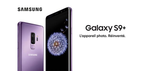 photo smartphone Samsung Galaxy S9 S9+ plus