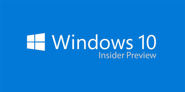 Télécharger ISO Windows 10 Insider Preview