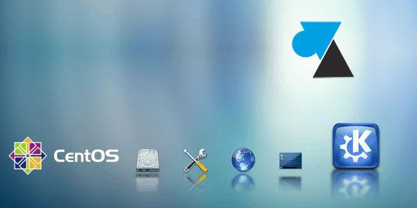 CentOS : supprimer l'environnement graphique KDE