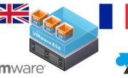 VMware ESXi / vSphere 6.7 : configurer le clavier français par défaut