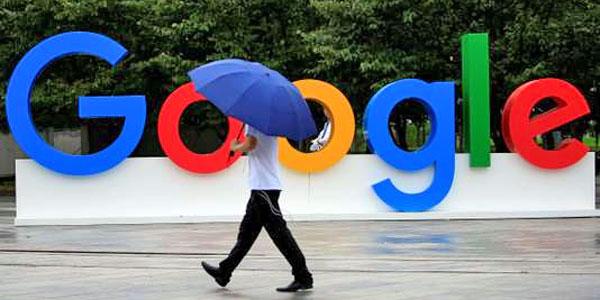 panneau google parapluie pluie