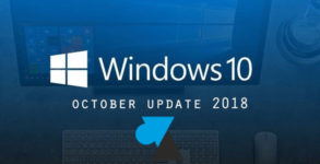 WF Windows 10 October Update 1809 octobre