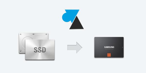 Cloner un disque dur vers un SSD Samsung