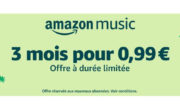Bon plan : 3 mois Amazon Music pour 1€