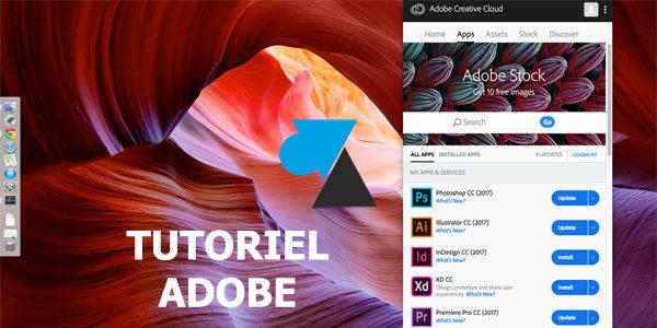 Changer la langue des applications Adobe (Photoshop, Illustrator, InDesign…)
