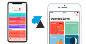 application Santé sante iOS iPhone iPad