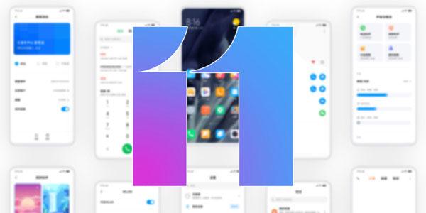 Smartphones Xiaomi compatibles MIUI 11