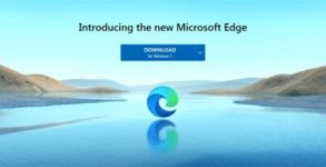 telecharger installer Edge 2020 Chromium Windows 7