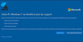 fin support Windows 7