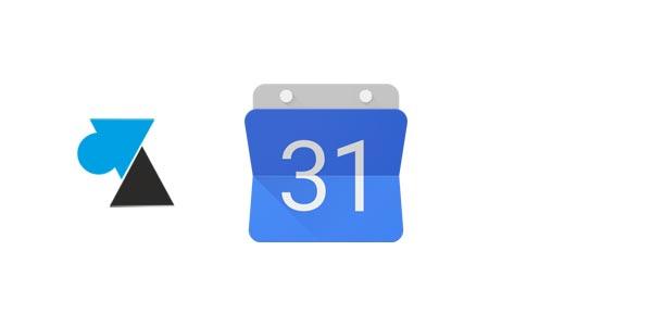 Imprimer un calendrier Google Agenda