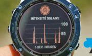 Fonctionnement de la recharge solaire sur montre Garmin