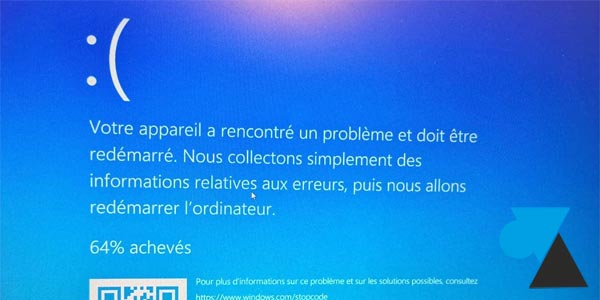Solution au plantage écran bleu quand on veut imprimer sur Windows 10