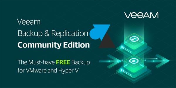 Version gratuite de Veeam Backup